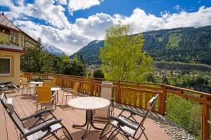 Hotel Alpenblick - Terrasse
